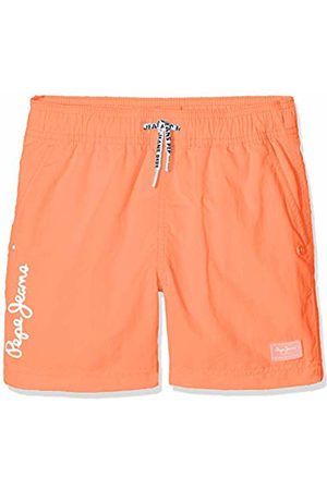 Pepe Jeans Boy's Magic Swim Trunks, (Sunset 168)