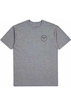 Brixton Men's Wheeler II Short Sleeve Standard FIT TEE T-Shirt
