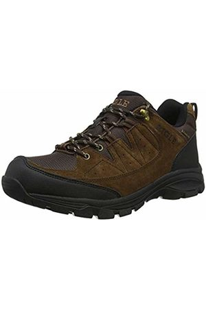 Aigle Men's Vedur Mtd Low Rise Hiking Shoes (Darkbrown 001) 9 UK