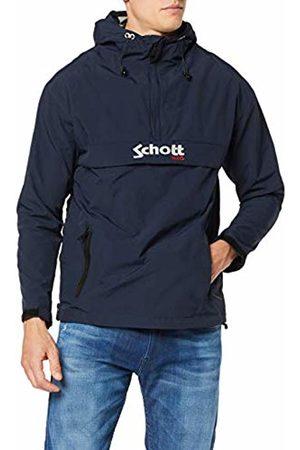 Schott NYC Men's's Pikes1 Hoodie, Navy