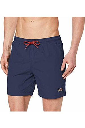 Napapijri Men's Villa 2 Swim Trunks (Dark Denim Bd1) Medium