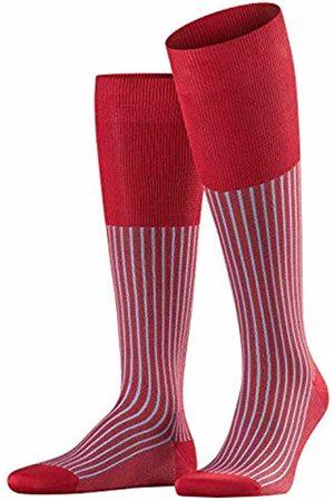 Falke Oxford Stripe Men Knee-high Socks scarlet (8228) 45-46