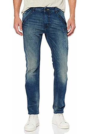 Tom Tailor Mens 1008871 Straight Leg Straight Jeans - Blue - W36/L34