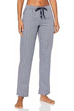 370fde35c05969 Schiesser Women's Mix & Relax Webhose Lang Pyjama Bottoms (Nachtblau 804)  14 (Size