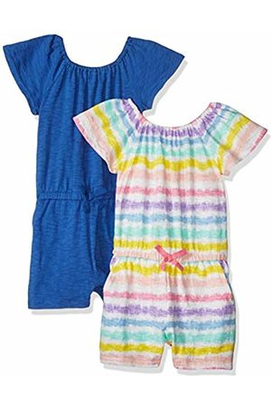 Spotted Zebra 2-Pack Knit Ruffle Top Rompers Playwear Dress