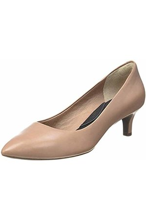 Rockport Total Motion Kalila, Women's Closed-Toe Pumps, (Warm Taupe Calf)