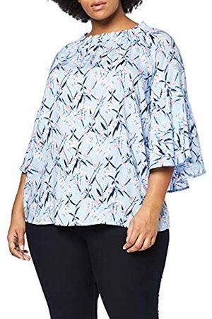Ulla Popken Women's Plus Size Off The Shoulder Floral Print Blouse Multi 16/18 716369 90-42+