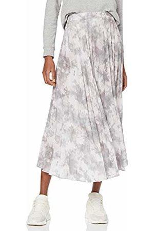 New Look Women's Ariel Tie Dye Pleated Skirt