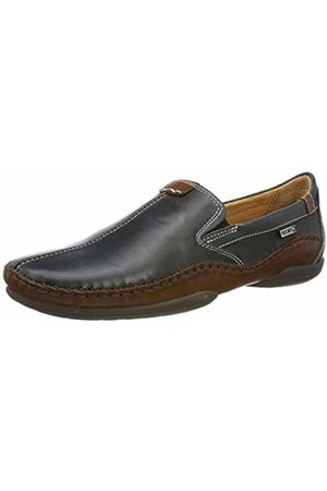 Pikolinos Leather Loafers Puerto RICO 03A Navyblue