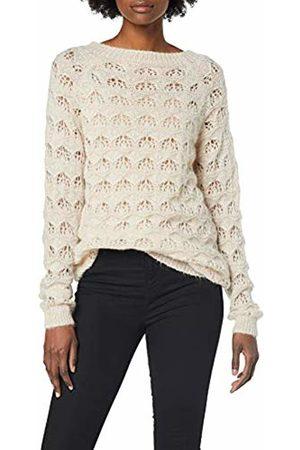 SPARKZ COPENHAGEN Women's's TALLI Pattern Knit Jumper (Pale Blush) 14 (Size: X-Large)
