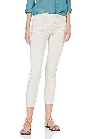 Opus Women's Elma 7/8 Glitter Slim Jeans (Oatmeal 2058) 12 (Size: 38)