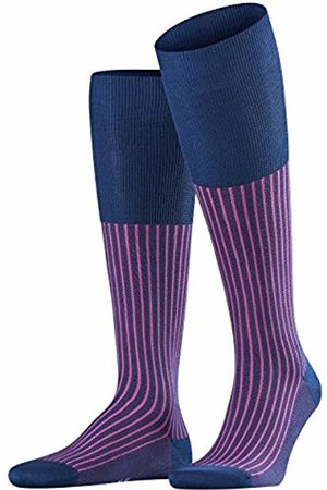 Falke Oxford Stripe Men Knee-high Socks royal (6000) 45-46