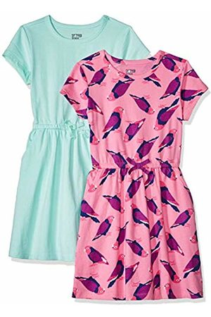 Spotted Zebra 2-Pack Knit Short-Sleeved Cinch Waist Dresses Playwear