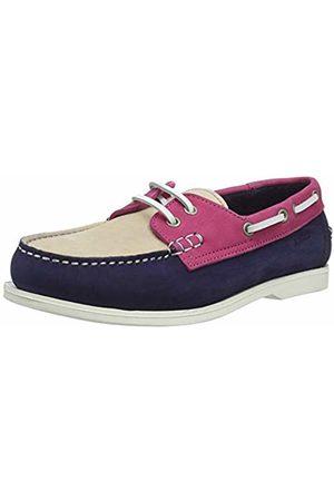 Aigle Women's Havson W Boat Shoes (Encre Bleu/Raspberry 001) 5 UK