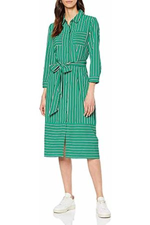 Warehouse Women's Utility Shirt Dress, ( Stripe 23)