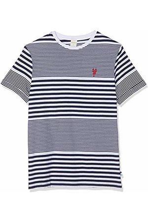 Springfield Men's 8hk Raya 2sports Organic T-Shirt (Gama Azules 11) Medium