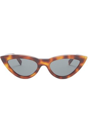 Céline Cat-eye Tortoiseshell Acetate Sunglasses - Womens