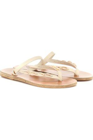 Ancient Greek Sandals Exclusive to Mytheresa – Mirsini embellished leather sandals
