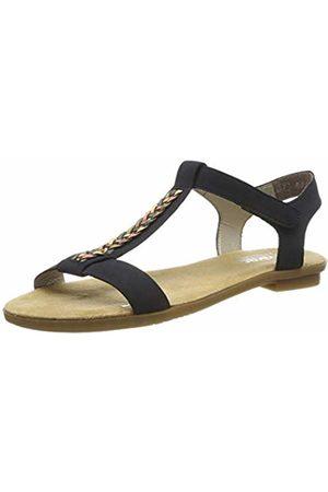 Rieker Women's 65172-14 Closed Toe Sandals (Pazifik/Multi 14) 2.5 UK