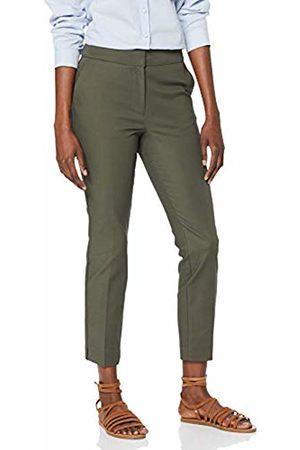 warehouse Women's Compact Cotton Trousers