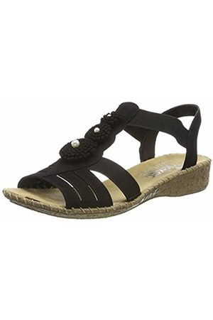 Rieker Women's 61695-00 Closed Toe Sandals 3.5 UK