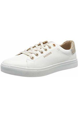 Dockers Women's 44ma201-610592 Low-Top Sneakers (Weiss/Rosegold 592) 7 UK