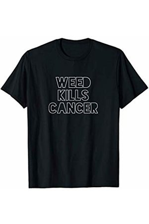 Cannabis is Medicine - Clothing Weed Kills Cancer | Support Medical Marijuana - Legalize Pot T-Shirt