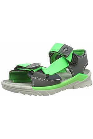 Ricosta Boys' Bob Ankle Strap Sandals (Graphite/Teer 450) 4 UK