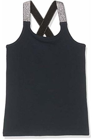 Name it Girl's Nkfvals XSL Racer Tank Top Noos Vest, Dark Sapphire