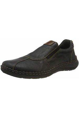 Rieker Men's 03051-01 Loafers (Schwarz/Mogano 01) 11 UK