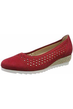 Gabor Shoes Women's Comfort Sport Ballet Flats (Rubin (Jute) 48) 9.5 UK (44 EU)