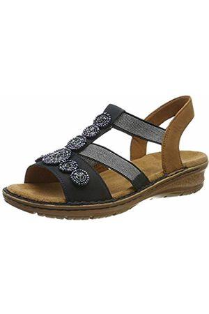 ARA Women's Hawaii 1237207 T-Bar Sandals, ( , Nuss 75)