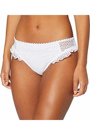 Pour Moi Women's Castaway Brief Plain Bikini Bottoms