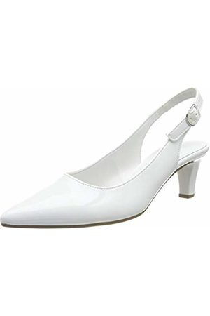 Gabor Shoes Women's Fashion Closed-Toe Pumps, (Weiss (+Absatz) 71)