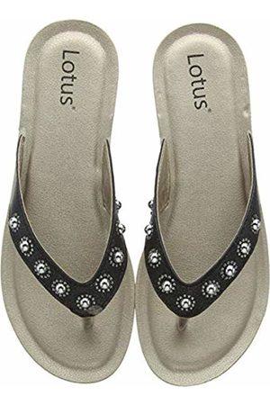 Lotus Women's Lexi Flip Flops, ( BBK)