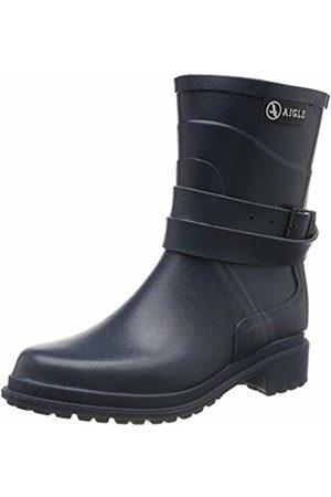 Aigle Women's Macadames Mid Wellington Rain Boots (Ardoise 001) 2.5 UK