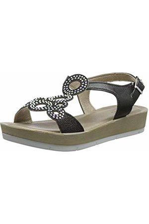 Lotus Women's Leela Open Toe Sandals, ( BBK)