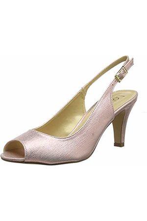 Lotus Women Heels - Women's Larissa Open Toe Heels, ( Kk)