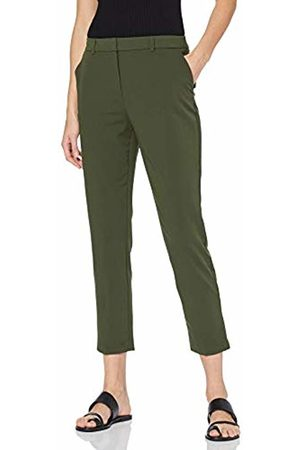 Dorothy Perkins Women's Ankle Grazer Trousers (Khaki 75) 8 (Size:8)