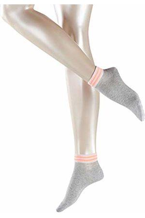 Esprit Women's Net Stripe Ankle Socks Storm 3820)