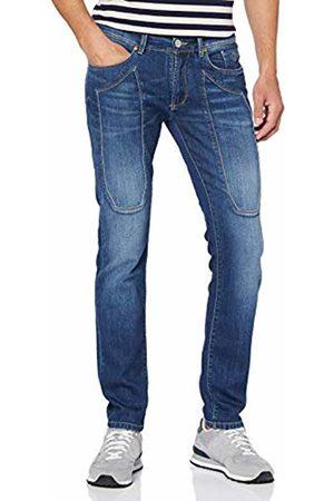 Jeckerson Men's 5pkts Patch Slim Slim Slim Jeans