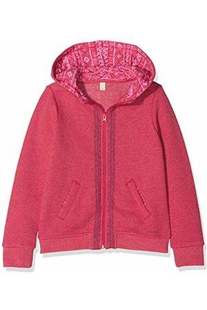 Esprit Kids Girls Regular Fit Hooded Long Sleeve Sweatshirt - Pink - 18-24 Months