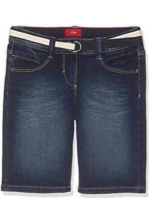 s.Oliver Girl's 66.904.72.2045 Bermudas Denim Stretch 57z7