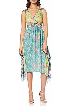 Joe Browns Women's Bright Floral Dipped Hem Beach Dress (Multi (Size:UK 18)