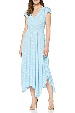 Joe Browns Women's Summery Polka Dot Handkerchief Hem Dress Pale / (Size:UK 14)