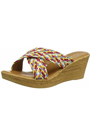 Lotus Women's Jacinta Open Toe Sandals (Rainbow Zz) 5 (38 EU)