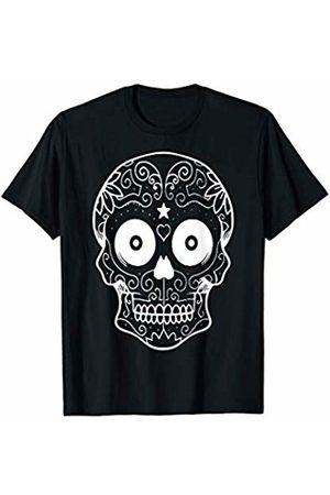 Urban Species US Sugar Skull Star Heart T-Shirt