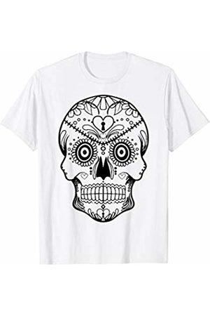 Urban Species US Sugar Skull Keyhole T-Shirt