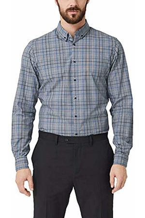 s.Oliver Men's 12.904.21 2/377 Formal Shirt, ( Check 59n1)