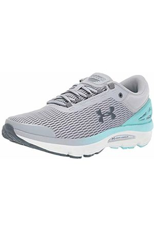 Under Armour Women's's Charged Intake 3 Running Shoes (Mod Neo Turquoise/Pitch Gray 101)